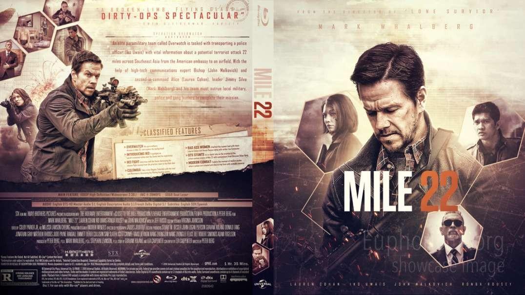 فیلم دوبله فارسی ۲۲ مایل Mile 22 2018