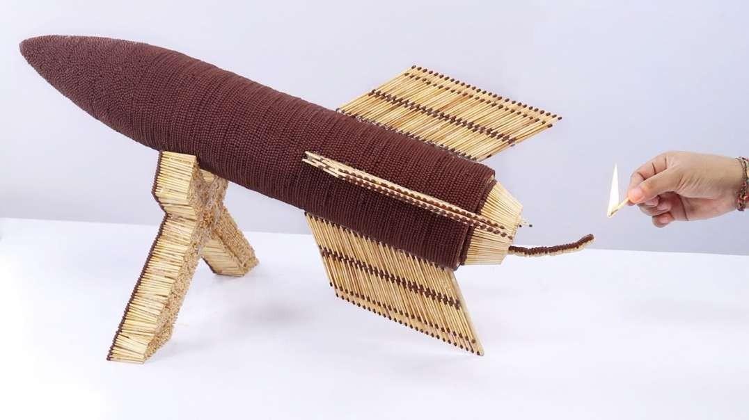 واکنش های زنجیره ای دومینو - اثر شگفت انگیز 70،000 چوب کبریت