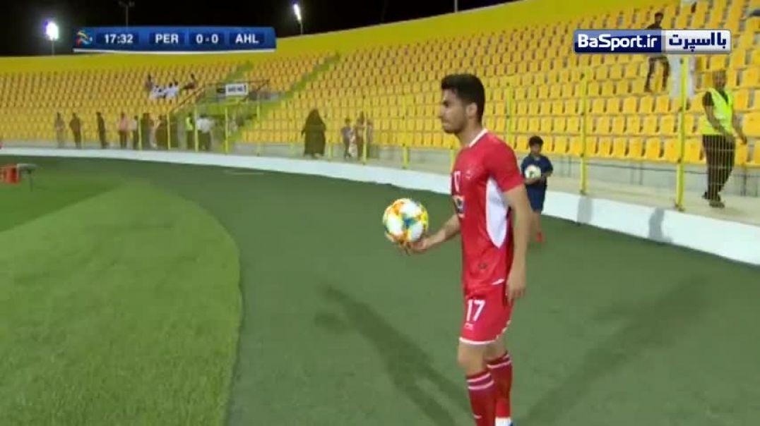 خلاصه بازی پرسپولیس 2 - 0 الاهلی عربستان