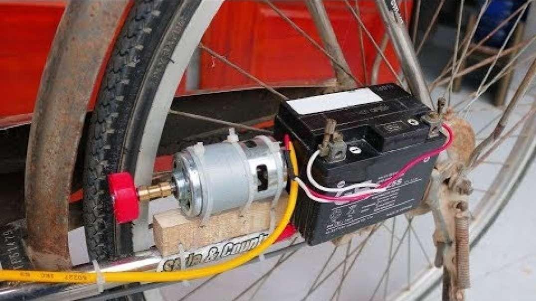 چگونه یک دوچرخه الکتریکی از دوچرخه قدیمی بسازیم؟