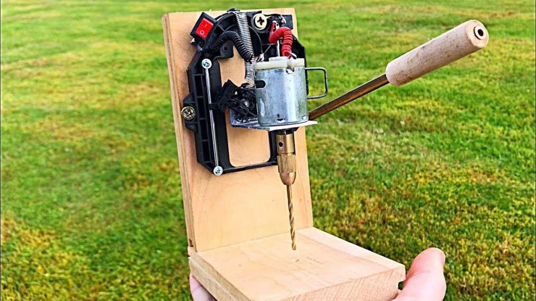 آموزش ساختن یک ماشین مینی دریل پرس