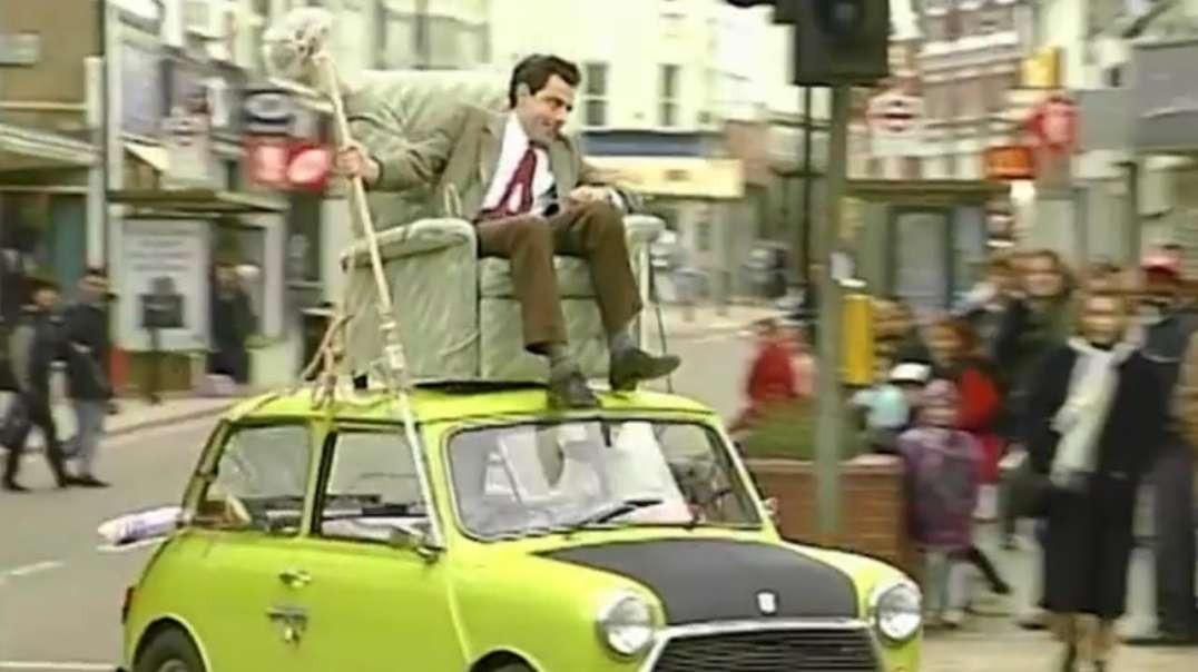 آقای بین - مستر بین سوار بر سقف اتومبیل