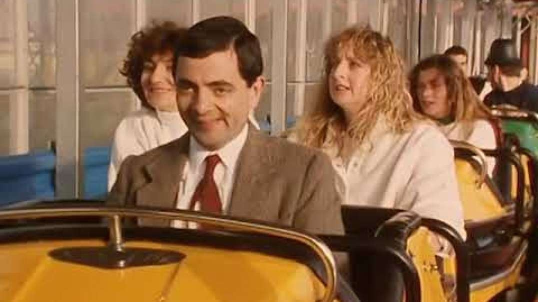 سواری مستر بین | کلیپ خنده دار | آقای بین