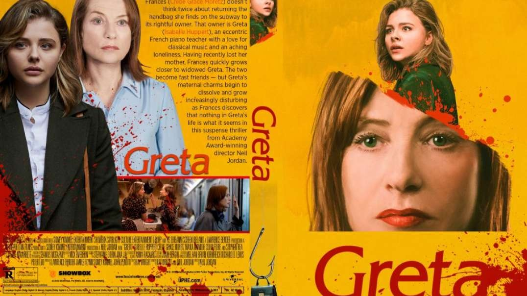 فیلم گرتا با دوبله فارسی Greta 2018