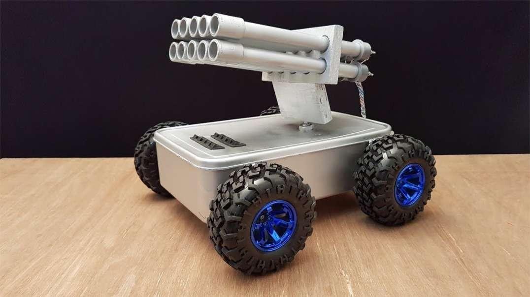 آموزش ساخت ماشین موشک انداز ضد هواپیمایی!
