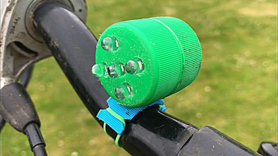 آموزش ساخت چراغ دوچرخه قابل شارژ