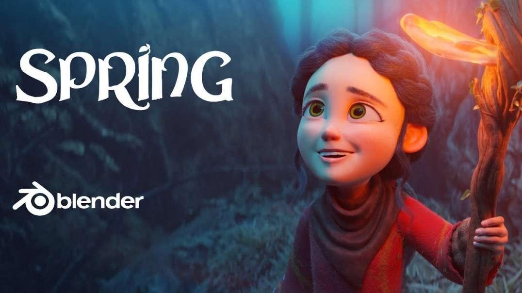 """انیمیشن کوتاه : """"بهار"""""""