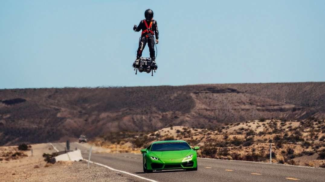 موتورهای جت برای پرواز انسان