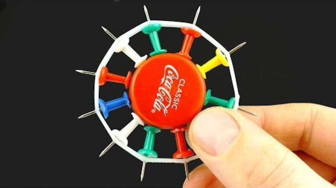 10  ایده فوق العاده سریع و جذاب برای ساخت اسباب بازی