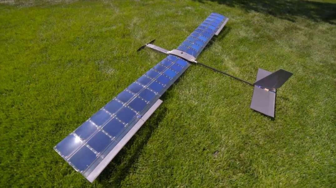 هواپیمای خورشیدی در تست پرواز طولانی مدت