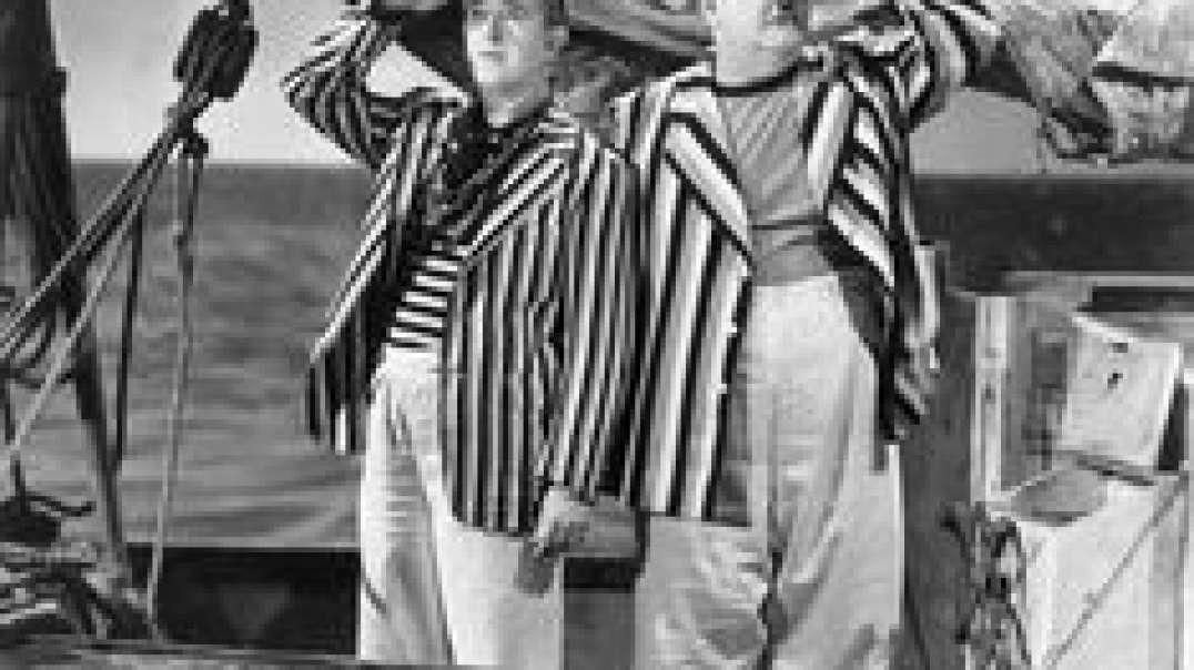 نخاله ها در دریا - #لورل و #هاردی (1940)