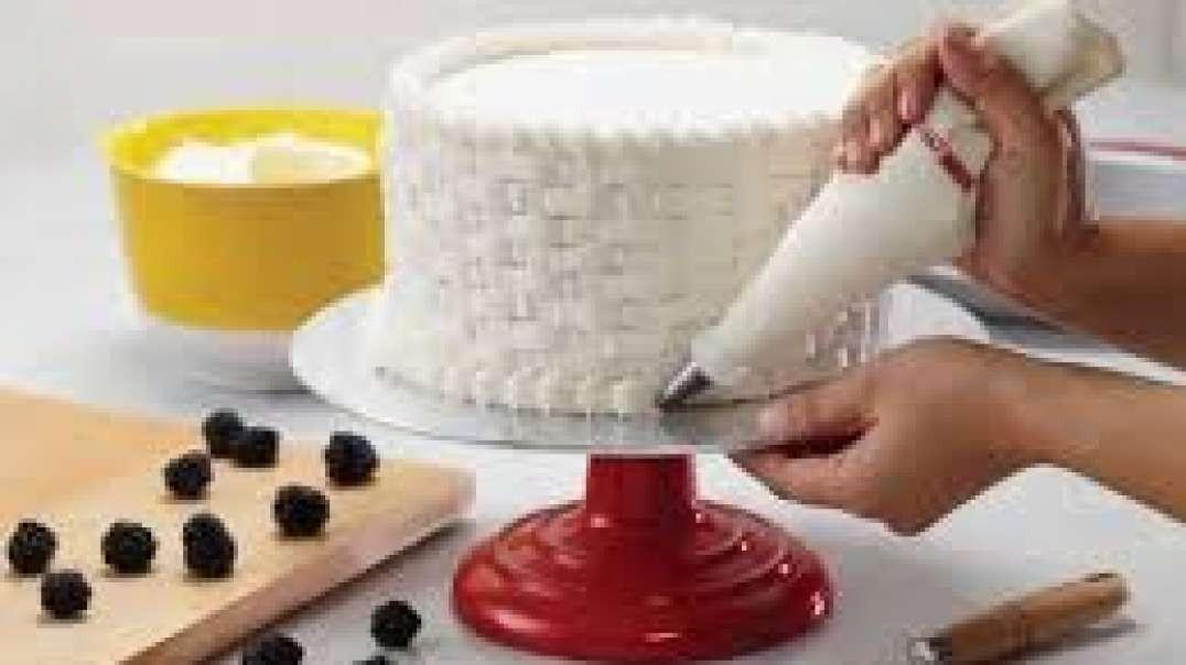 آموزش تزیین کیک برای مبتدیان