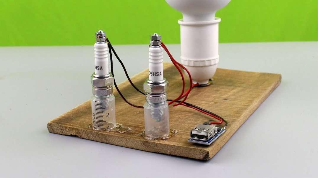 نحوه ساخت شارژر موبایل با انرژی رایگان