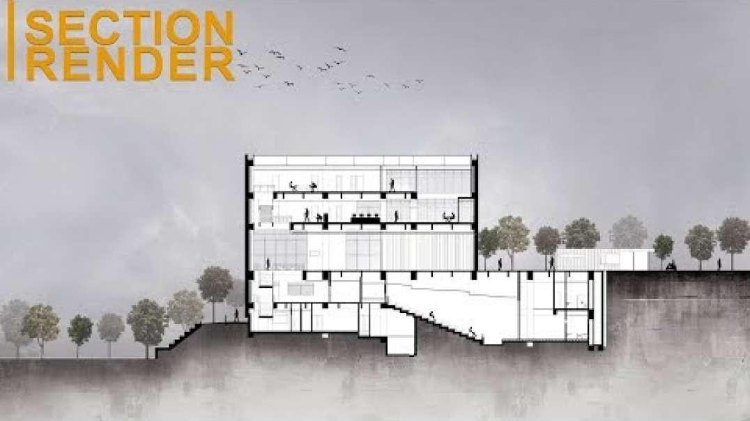 آموزش راندو برش معماری در فتوشاپ