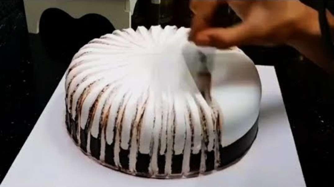 آموزش تزیین کیک  تولد