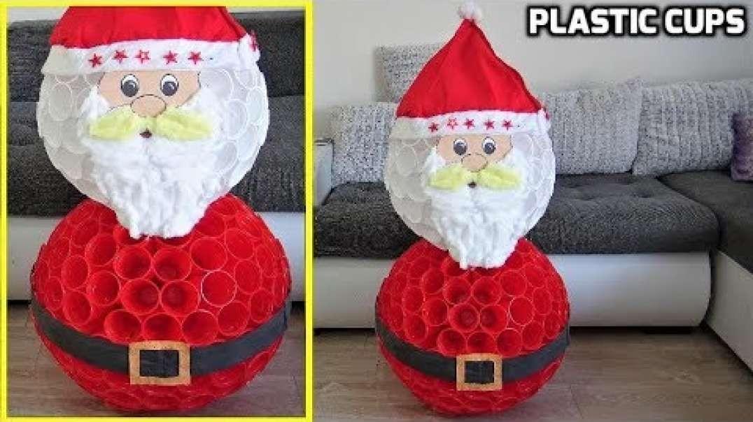 ایده ساخت عروسک بابانوئل برای کریسمس