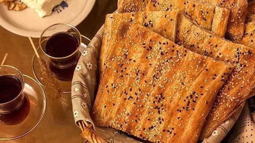 طرز تهیه نان خانگی به روش نان بربری