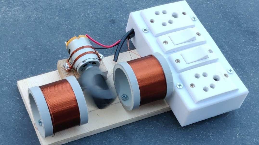 قدرتمندترین تولید کننده انرژی رایگان 220 ولت