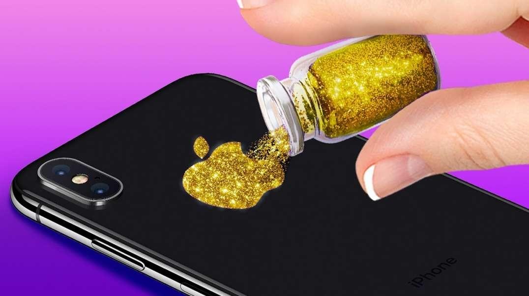 34 ایده عالی برای طراحی قاب گوشی