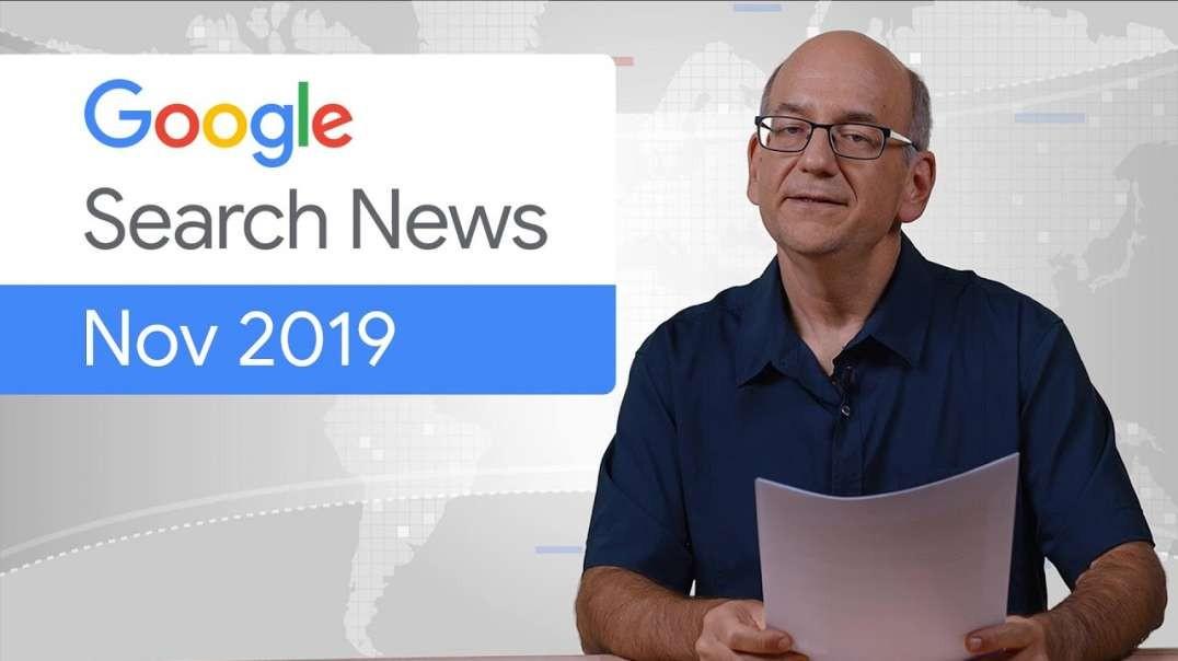 به روزرسانی در کنسول جستجوی Google ('19 نوامبر) - زیرنویس فارسی