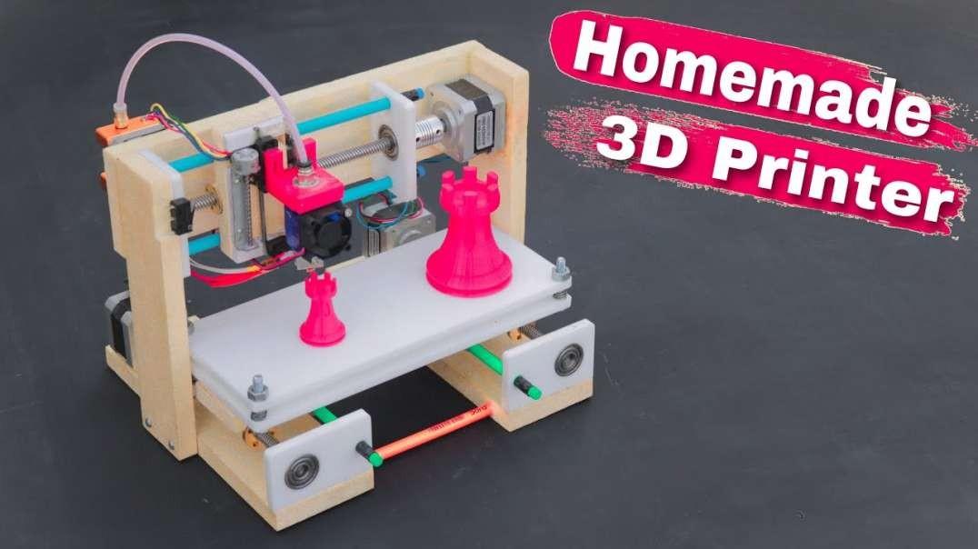 آموزش ساخت پرینتر سه بعدی در خانه
