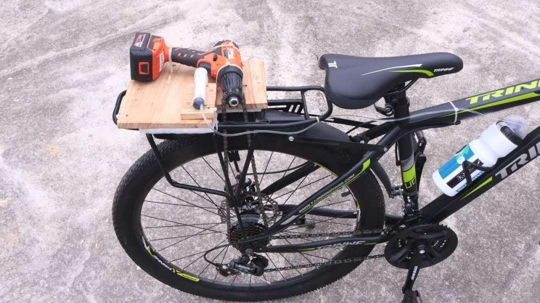نحوه ساخت دوچرخه برقی با دریل