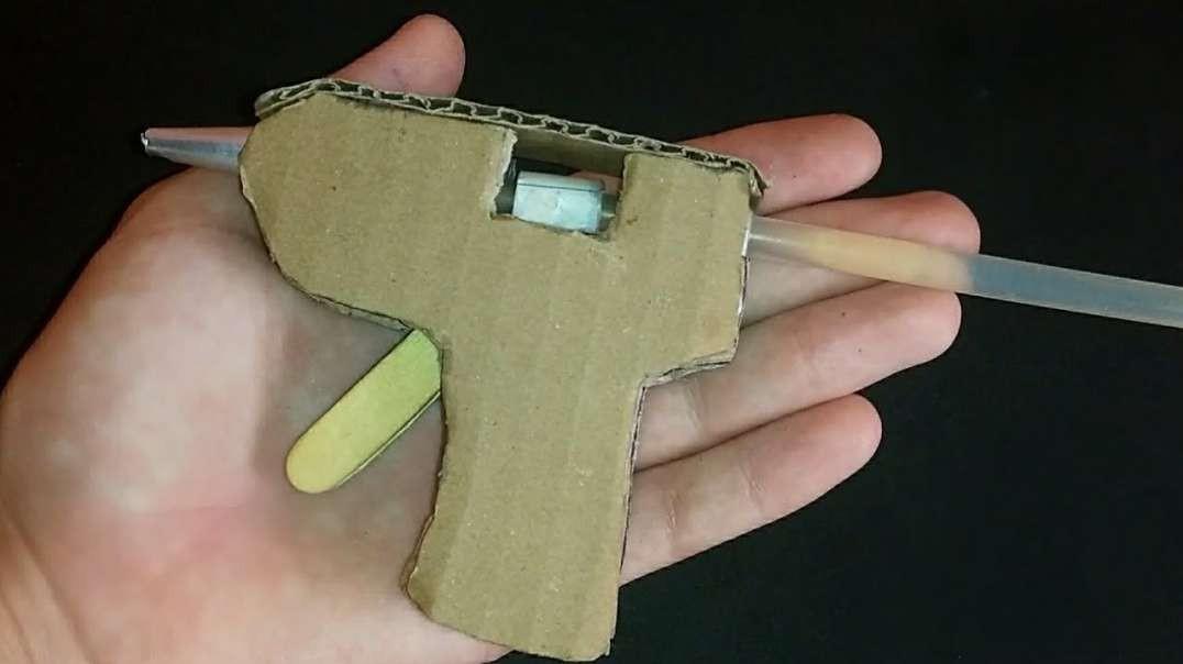 ساخت چسب تفنگی در خانه