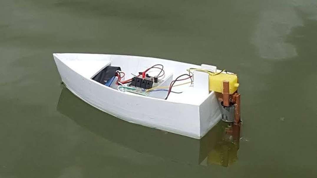 روش ساخت قایق برقی