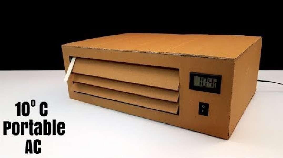 ساخت دستگاه تهویه هوا در خانه