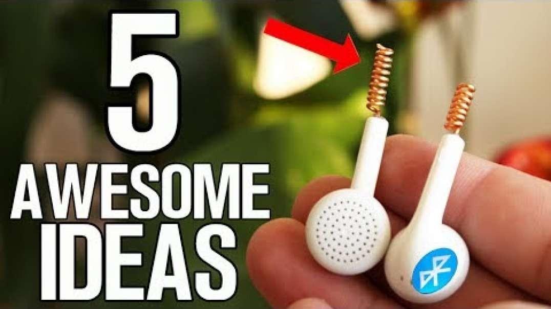 پنج اختراع شگفت انگیز