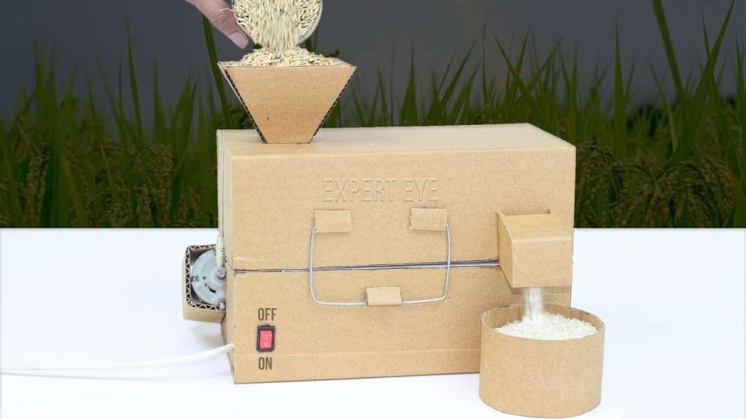 ساخت دستگاه پوست گیر برنج