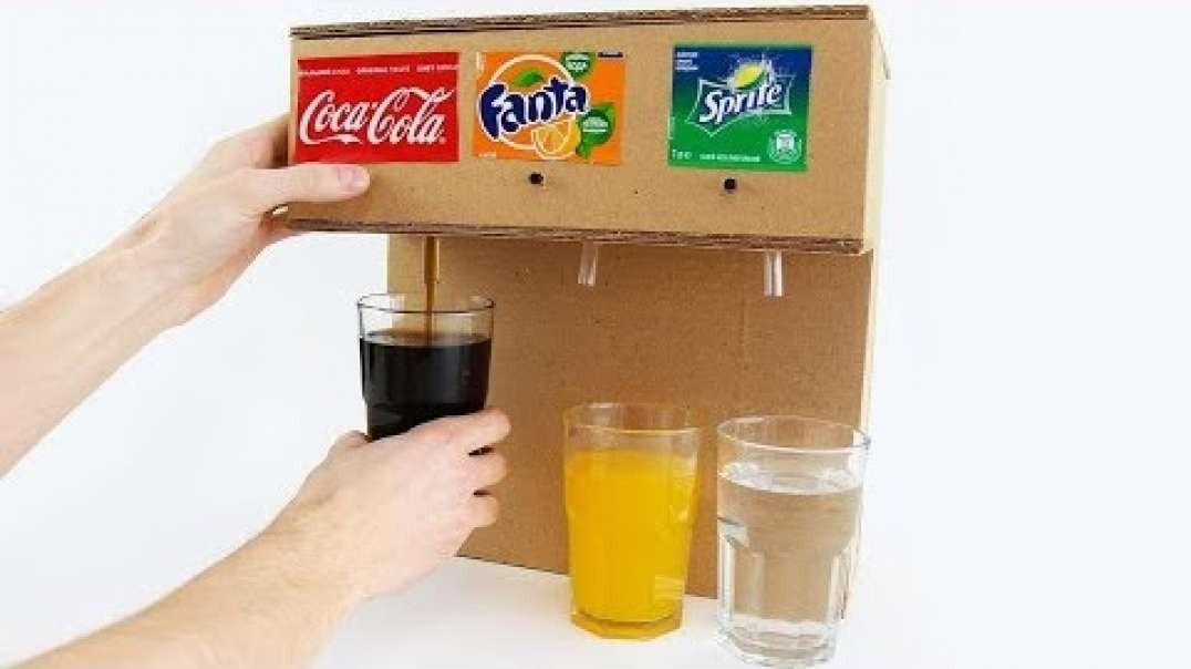 اختراع دستگاه مخزن نوشابه با سه مخزن مجزا برای انواع نوشیدنی