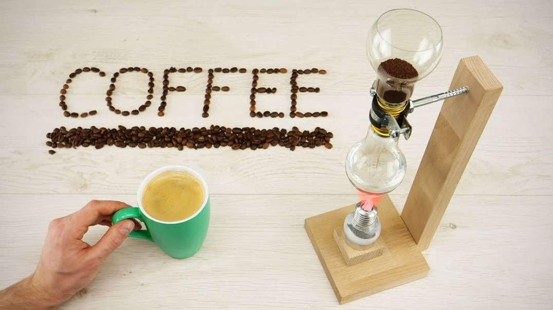 ساخت قهوه ساز خلا با لامپ های کم مصرف