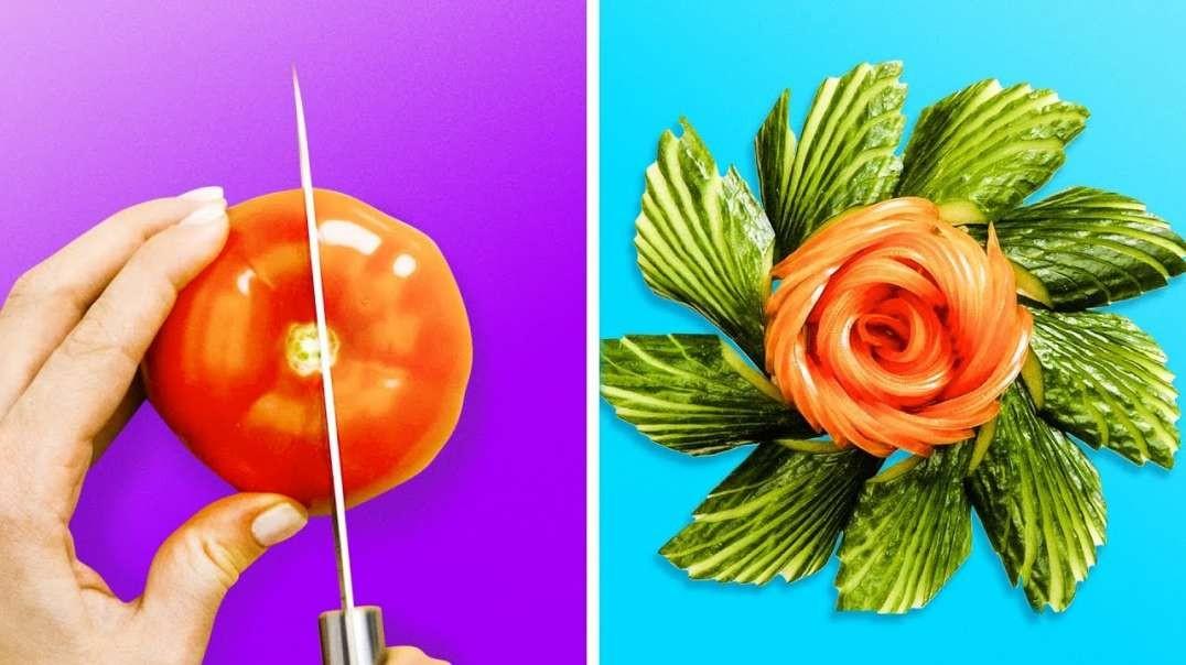 تزیین جالب و زیبا میوه ها
