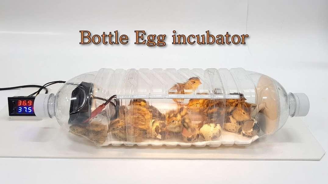 ساخت دستگاه جوجه کشی بلدرچین با بطری پلاستیکی