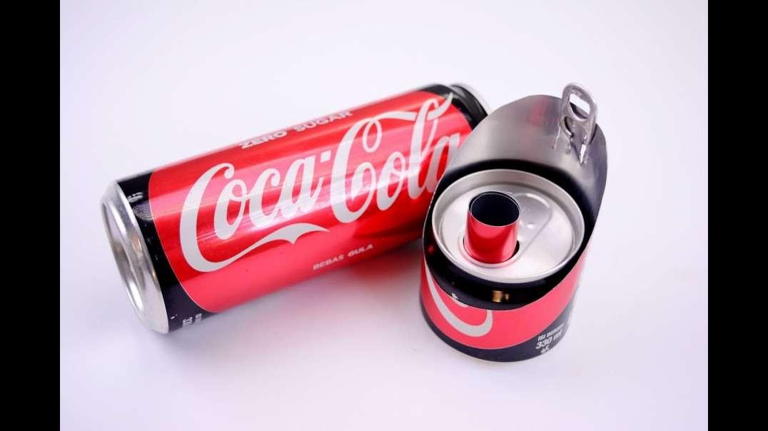 چند ترفند با قوطی کوکاکولا