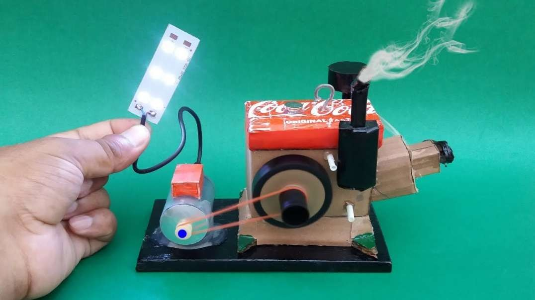 نحوه ساخت یک مدل ژنراتور موتور در خانه