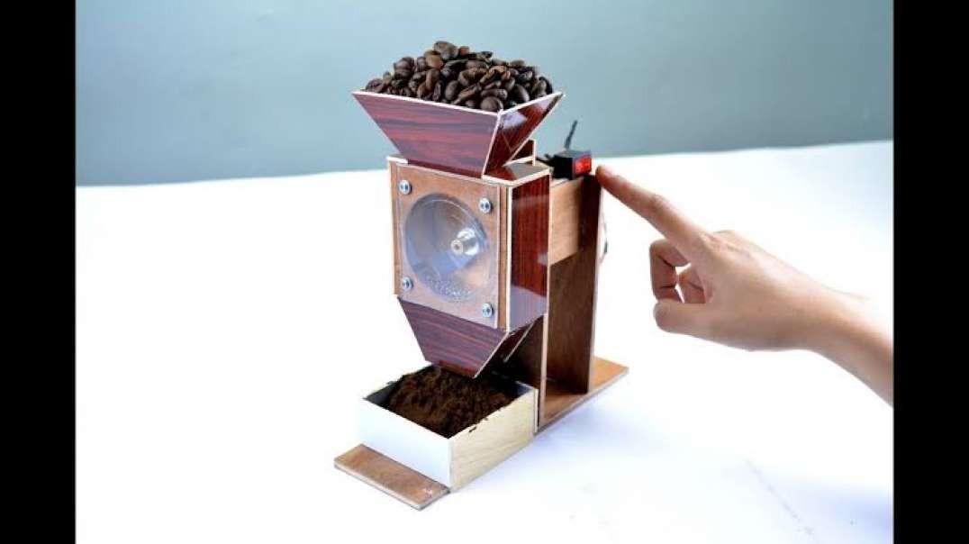 ساخت دستگاه قهوه خردکن