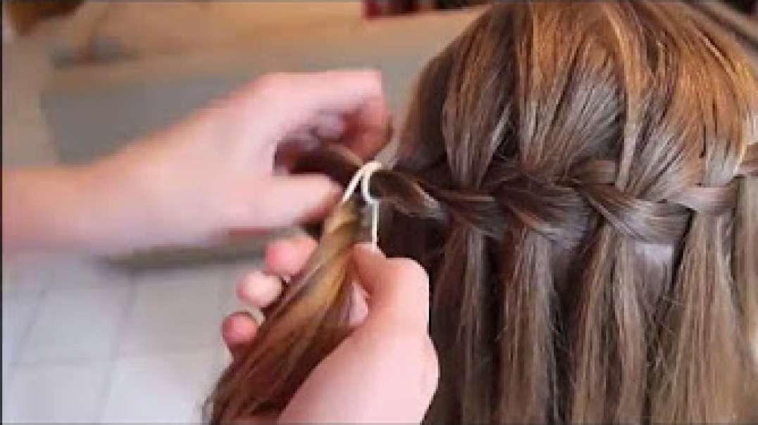 آموزش ساده و کاربردی بافت موی دخترانه