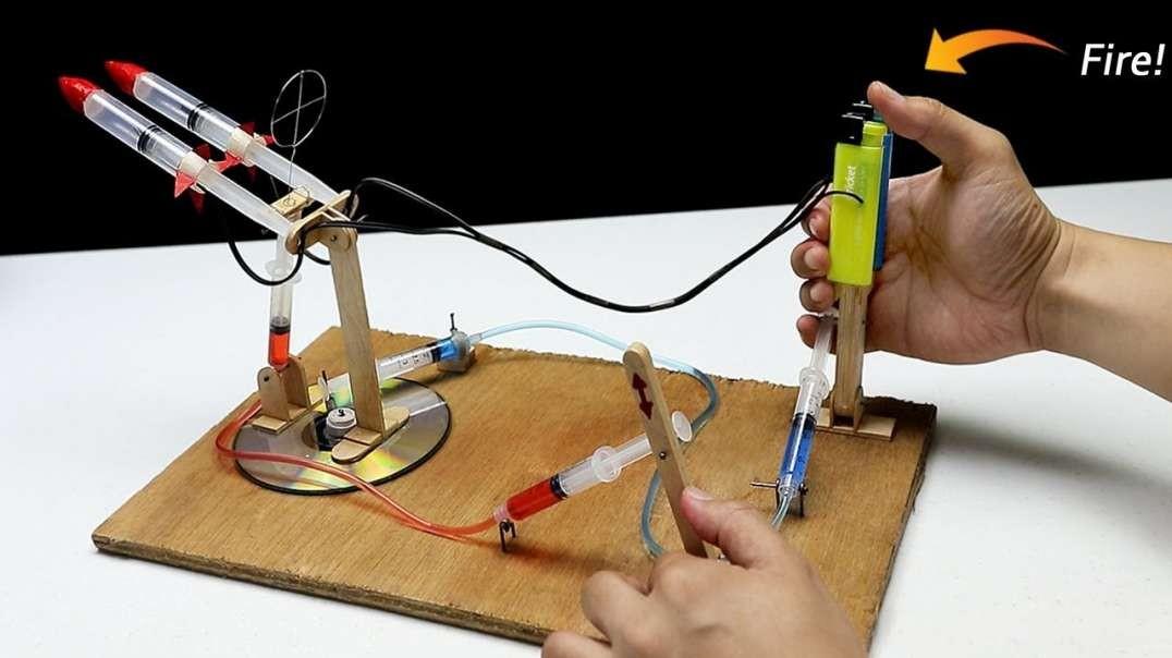 ساخت پرتابگر پرقدرت با سرنگ