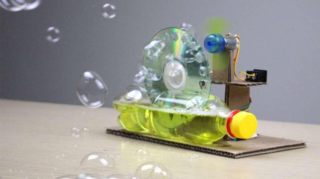 ساخت دستگاه حباب ساز با آرمیچر