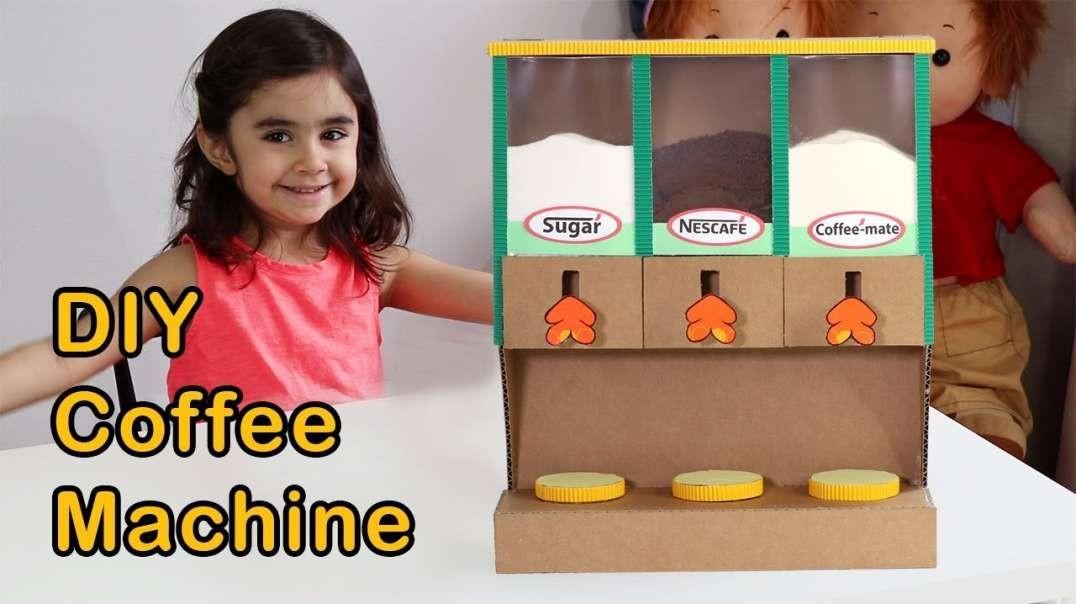 آموزش ساخت ماشین قهوه ساز خانگی با مقوا
