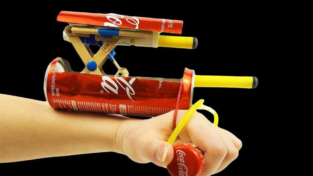 ساخت اختراع دست ساز با بطری نوشابه
