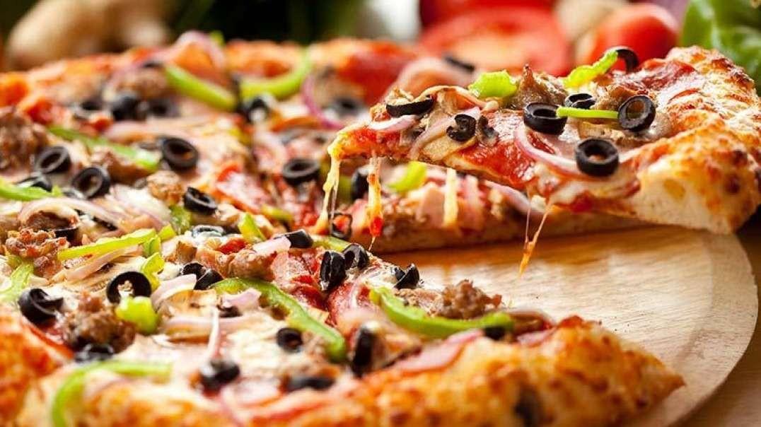 دستور پخت پیتزای آسان و خانگی