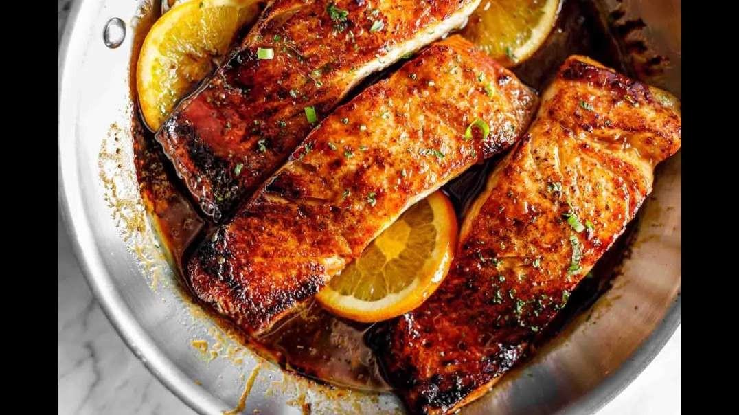 طرز تهیه ماهی قزل آلا ترد