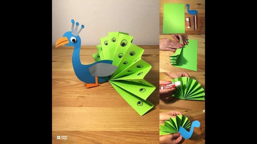 بهترین ایده های ساخت کاردستی های زیبا برای کودکان