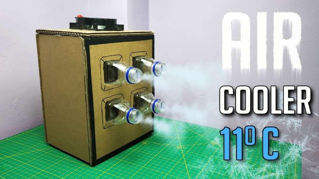 ساخت دستگاه خنک کننده قدرتمند