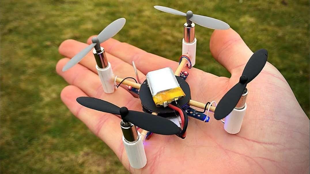 ساختن هواپیمای بدون سرنشین در خانه