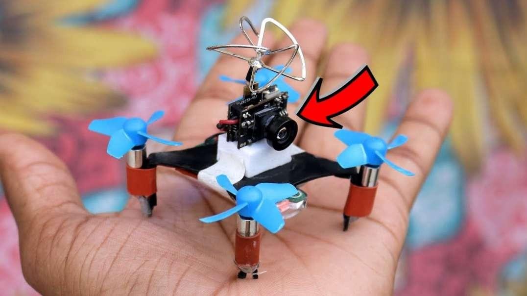 ساخت هواپیمای بدون سرنشین با دوربین